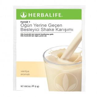 Besleyici shake karışımı Formül 1 Paket Vanilya 7 adet, her biri 26g