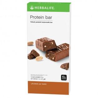 Protein Bar Çikolatalı Yer Fıstıklı 14 adet, her biri 35g